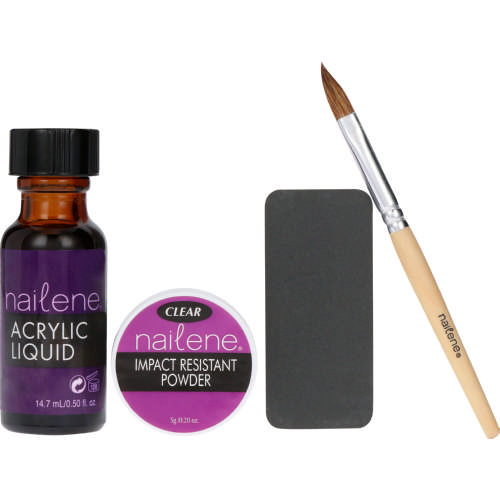 nailene acrylic kit instructions