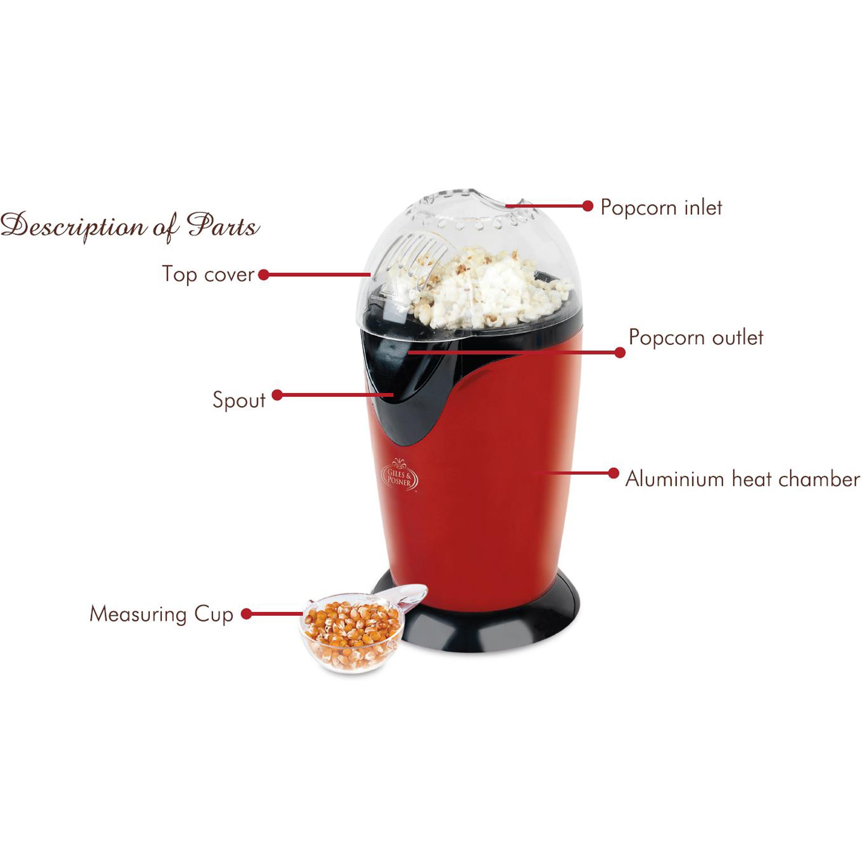 popcorn air popper instructions