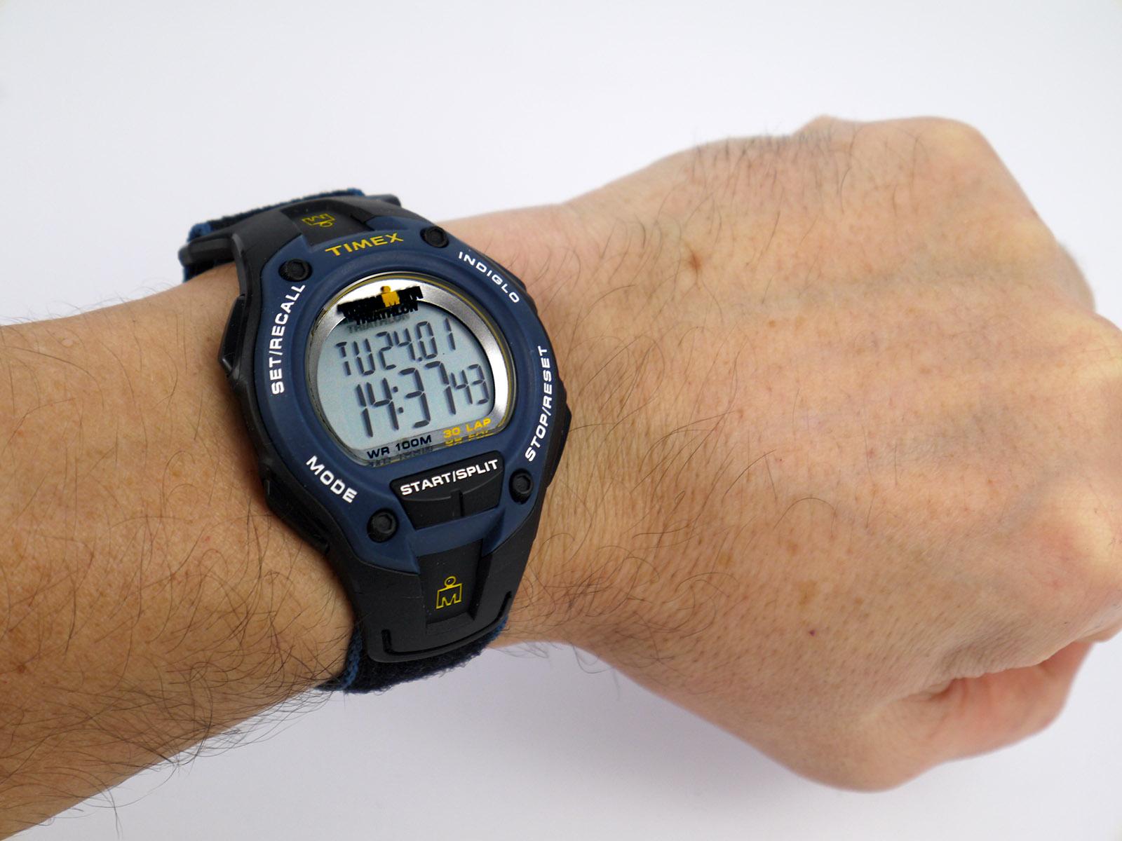 timex ironman triathlon 100 lap watch instructions
