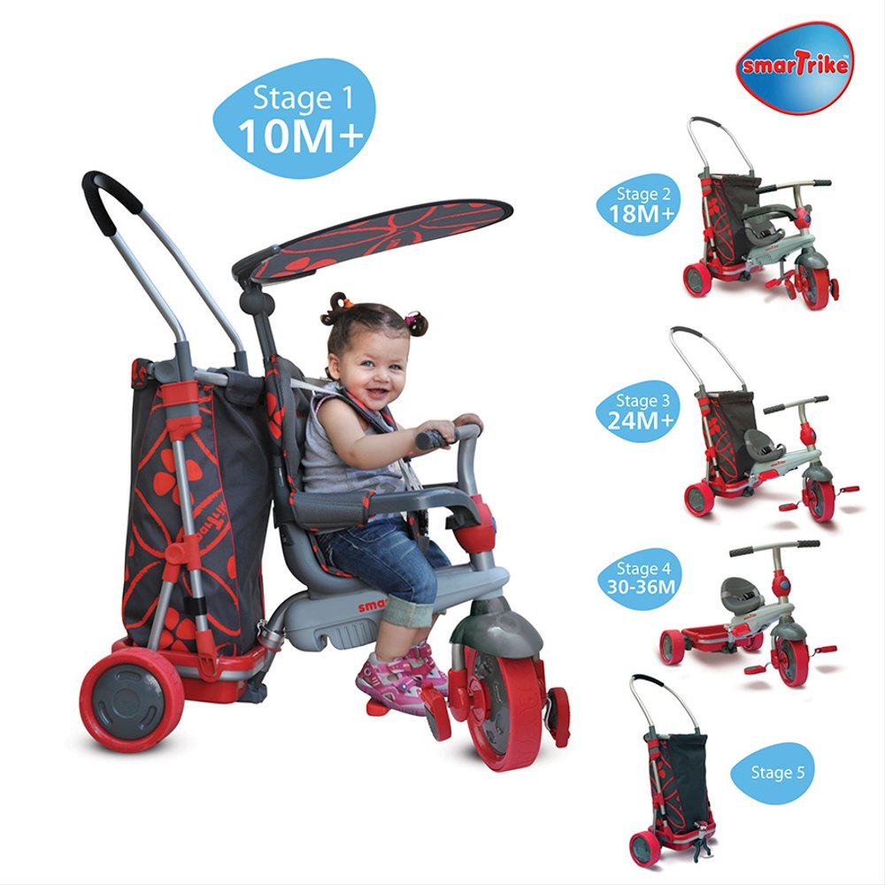 smart trike touch steering instructions