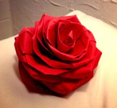 3d origami rose instructions