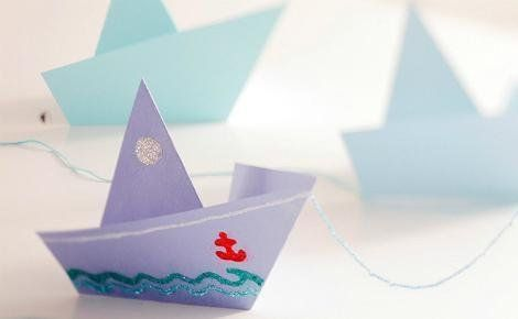 origami pirate ship instructions