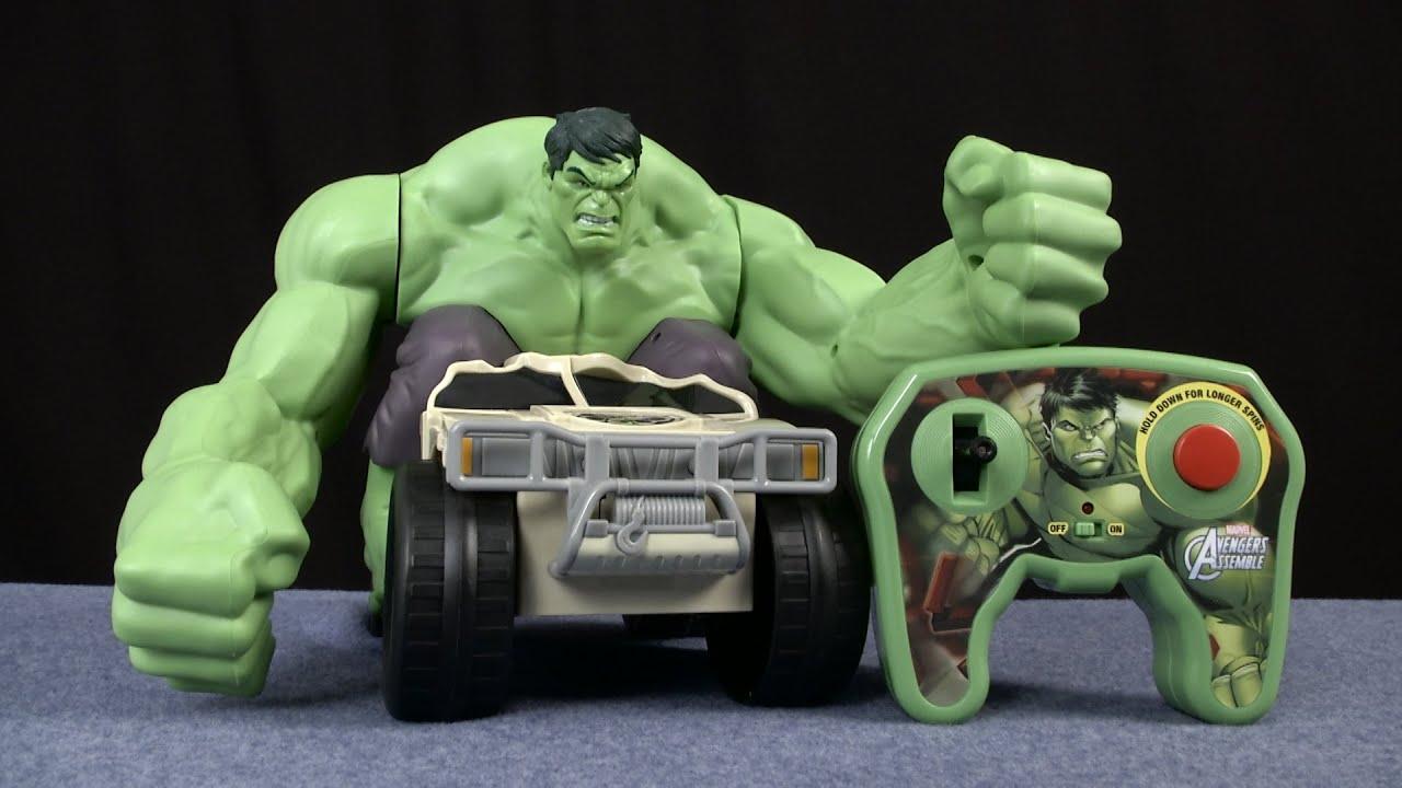 rc hulk smash instructions