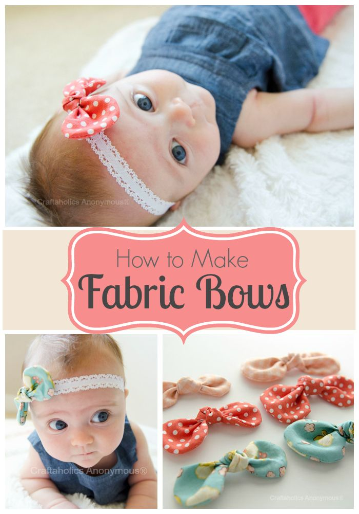 free hair bow instructions