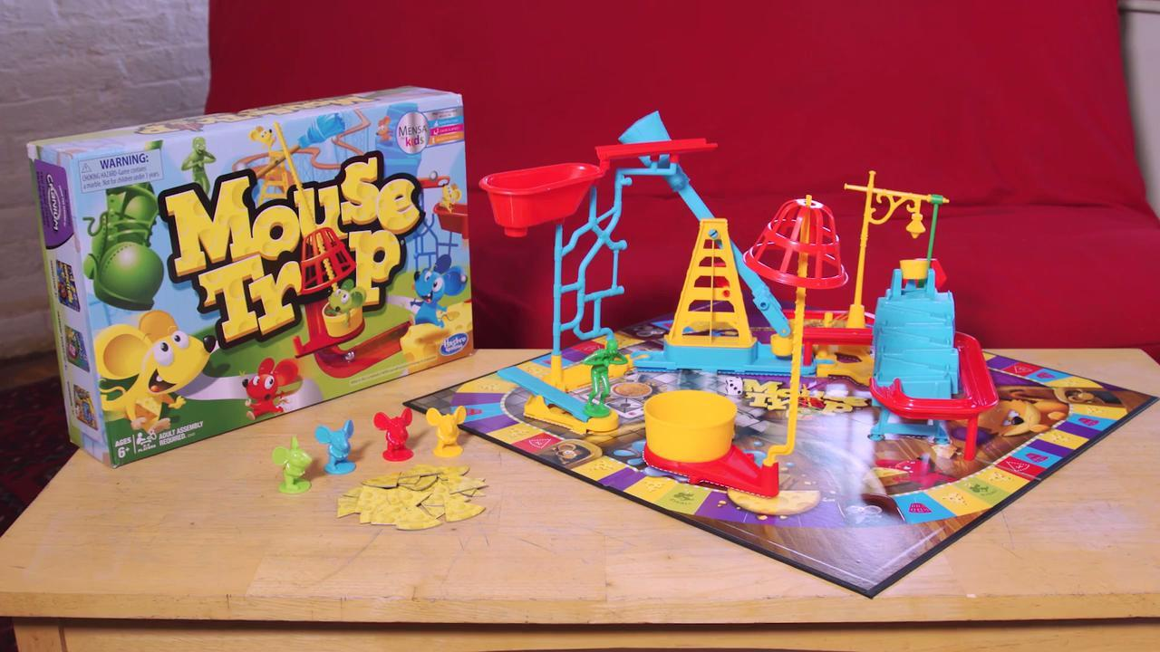 hasbro mouse trap instructions 2006