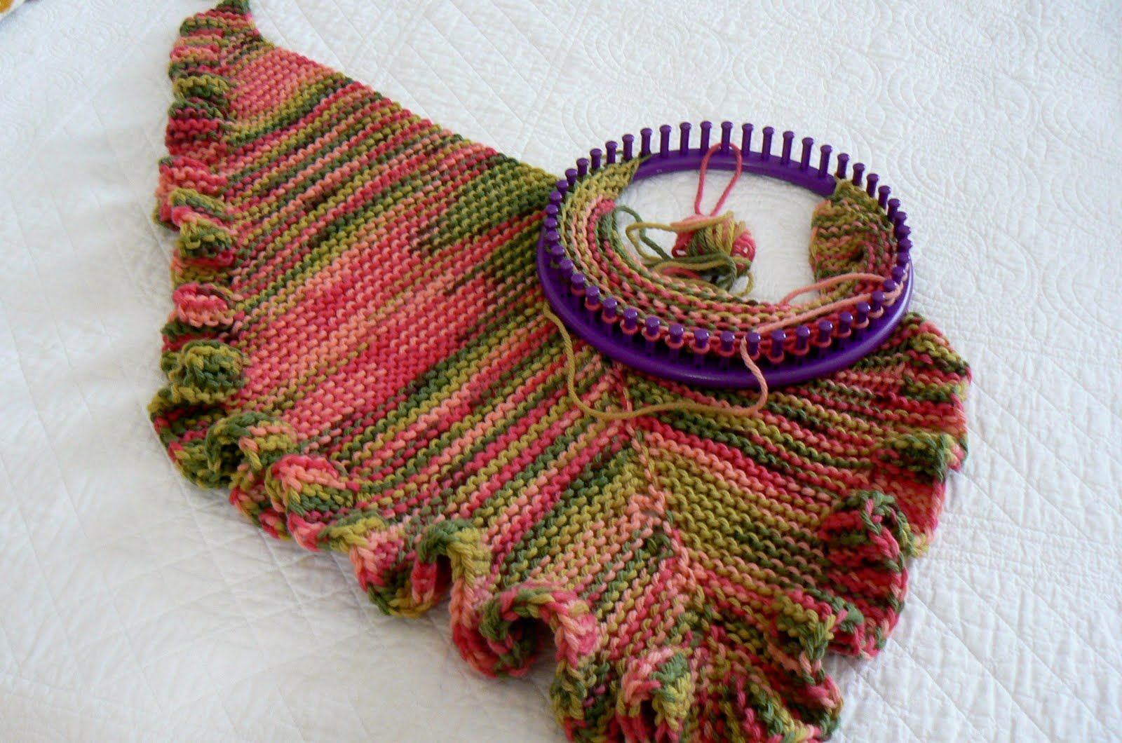 laptop knit and loom instructions