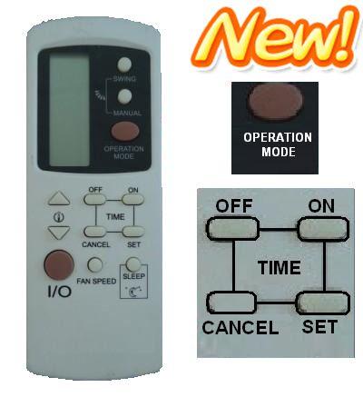 midea remote controller instructions