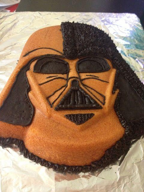 darth vader cake pan instructions