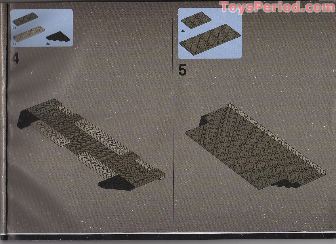 6211 imperial star destroyer instructions