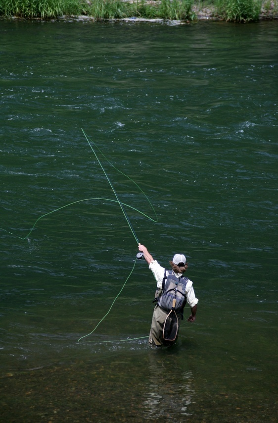 best fly casting instruction