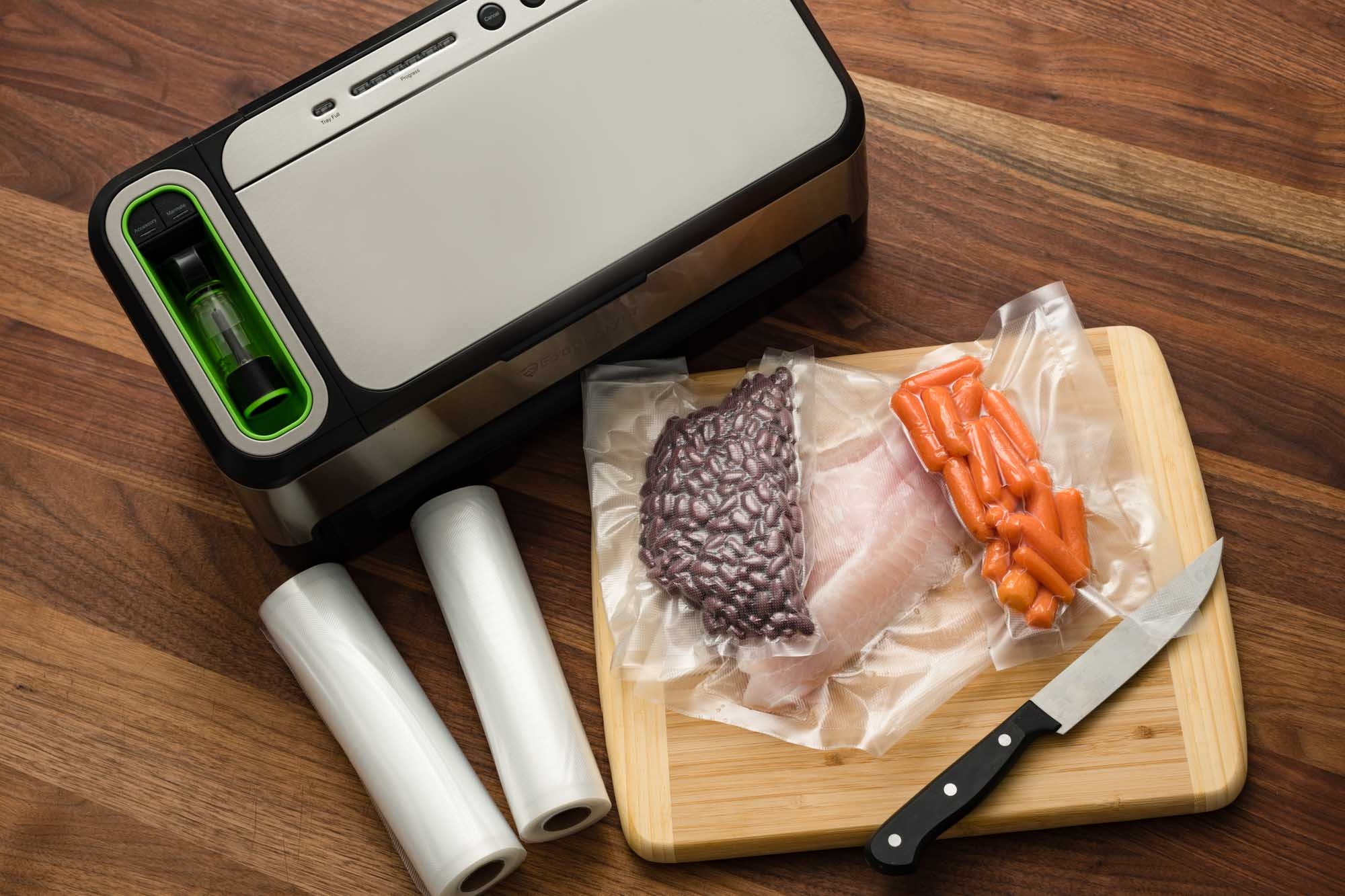 foodsaver vacuum sealer instructions