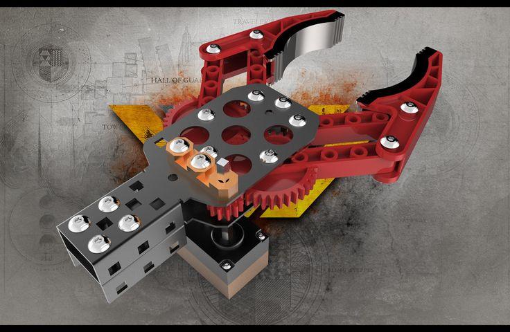 vex robot arm instructions