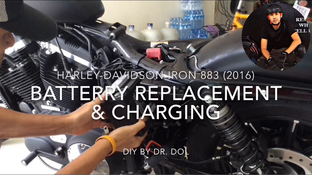 harley davidson battery charging instructions