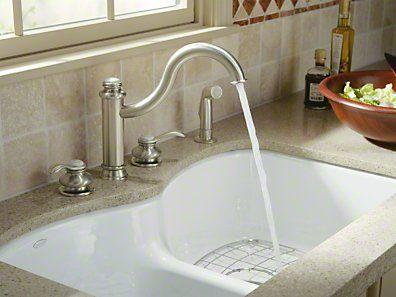 kohler cast iron sink installation instructions