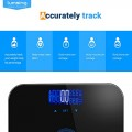 body fat hydration monitor scale instructions