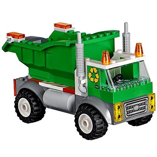 lego juniors garbage truck instructions
