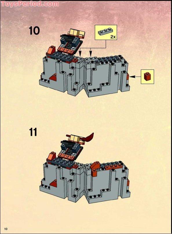 harry potter lego set instructions