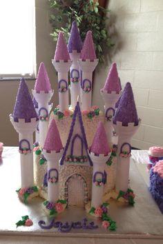 wilton castle cake instructions
