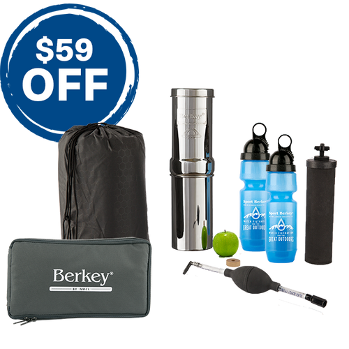 berkey sport bottle instructions