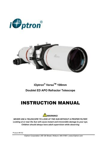 bushnell 565 telescope instruction manual