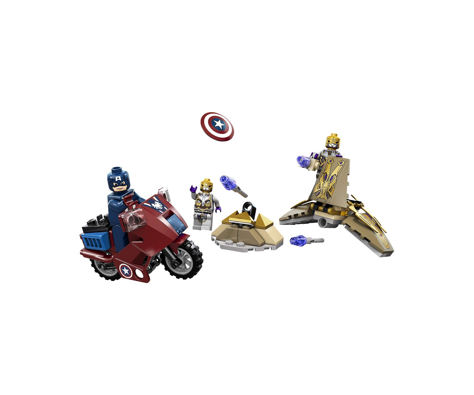 captain america lego set instructions