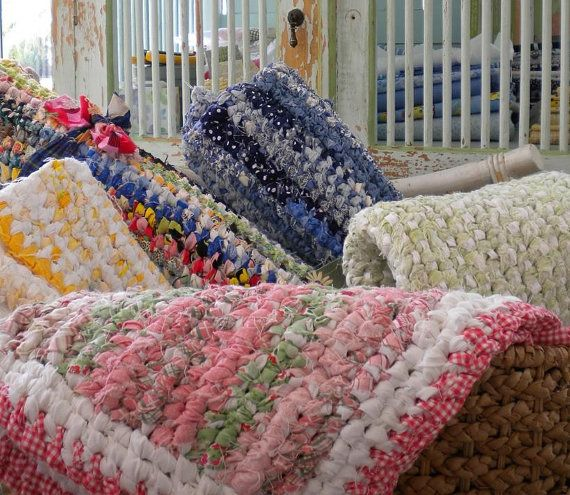 crochet rag rugs instructions