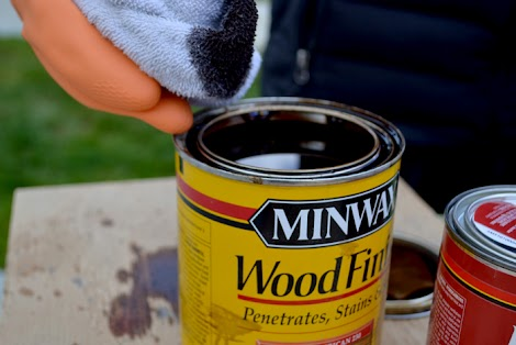 minwax stain application instructions