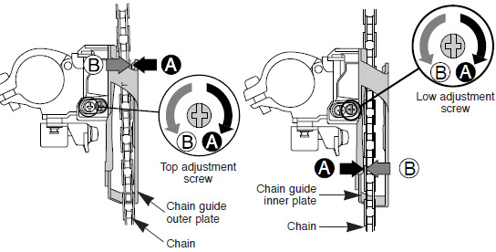 shimano chain installation instructions
