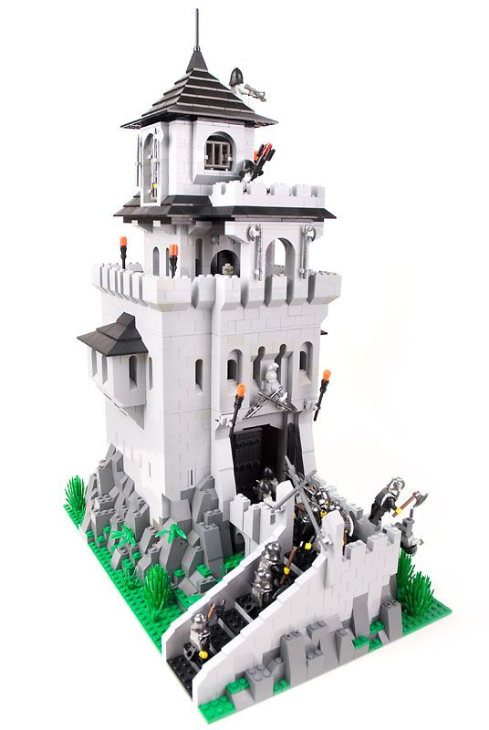 duplo knights castle instructions