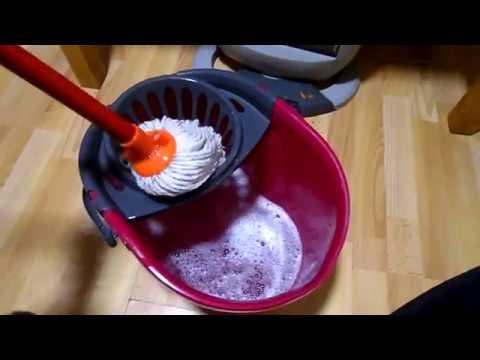 vileda spin mop instructions