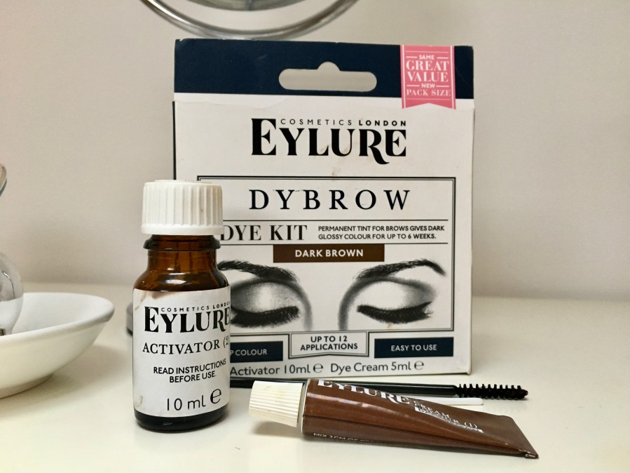 eylure brow dye instructions