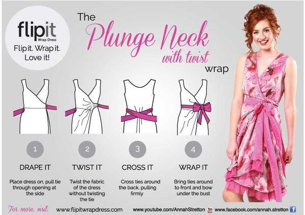 twist wrap dress instructions