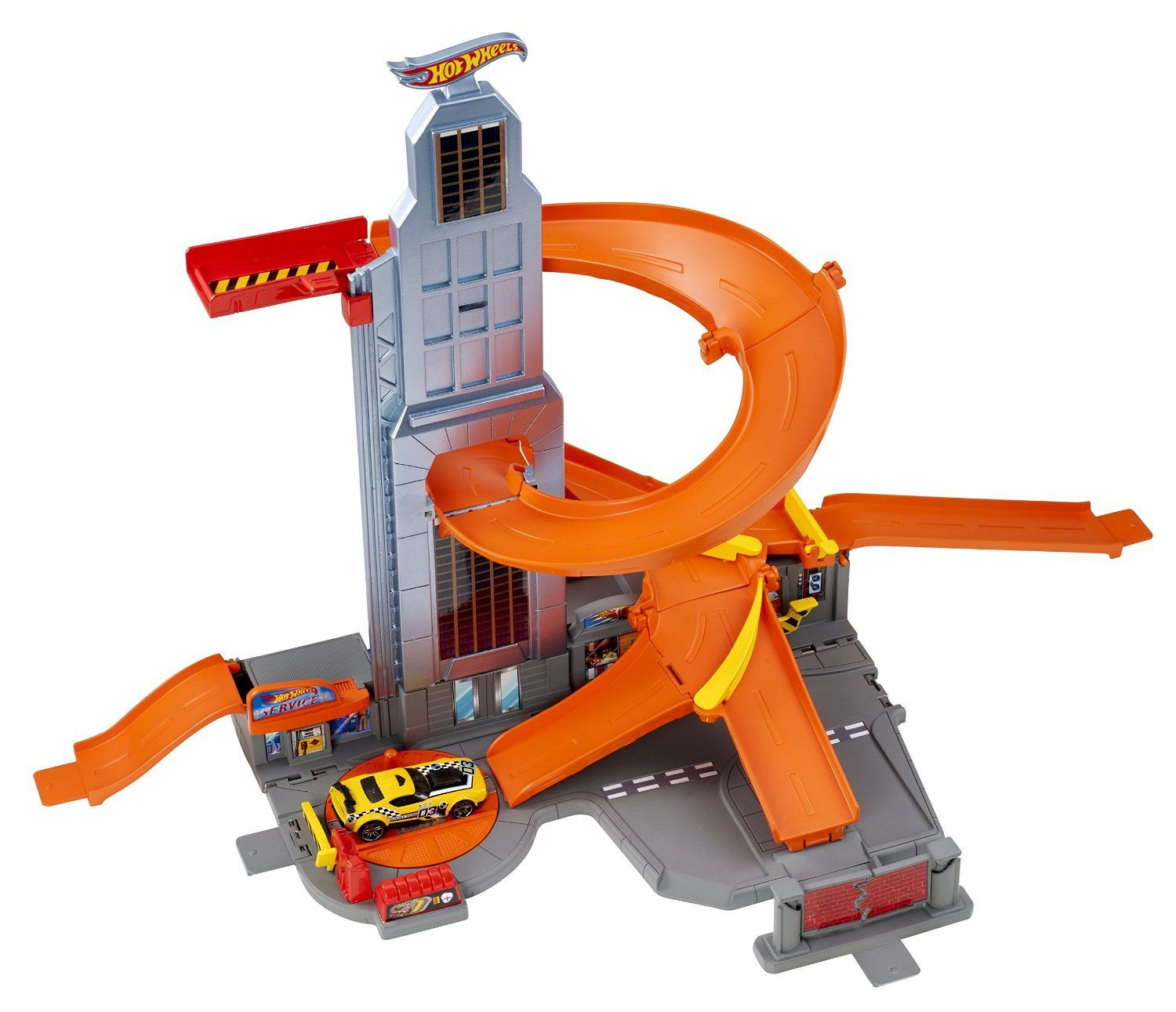 hot wheels spiral track instructions