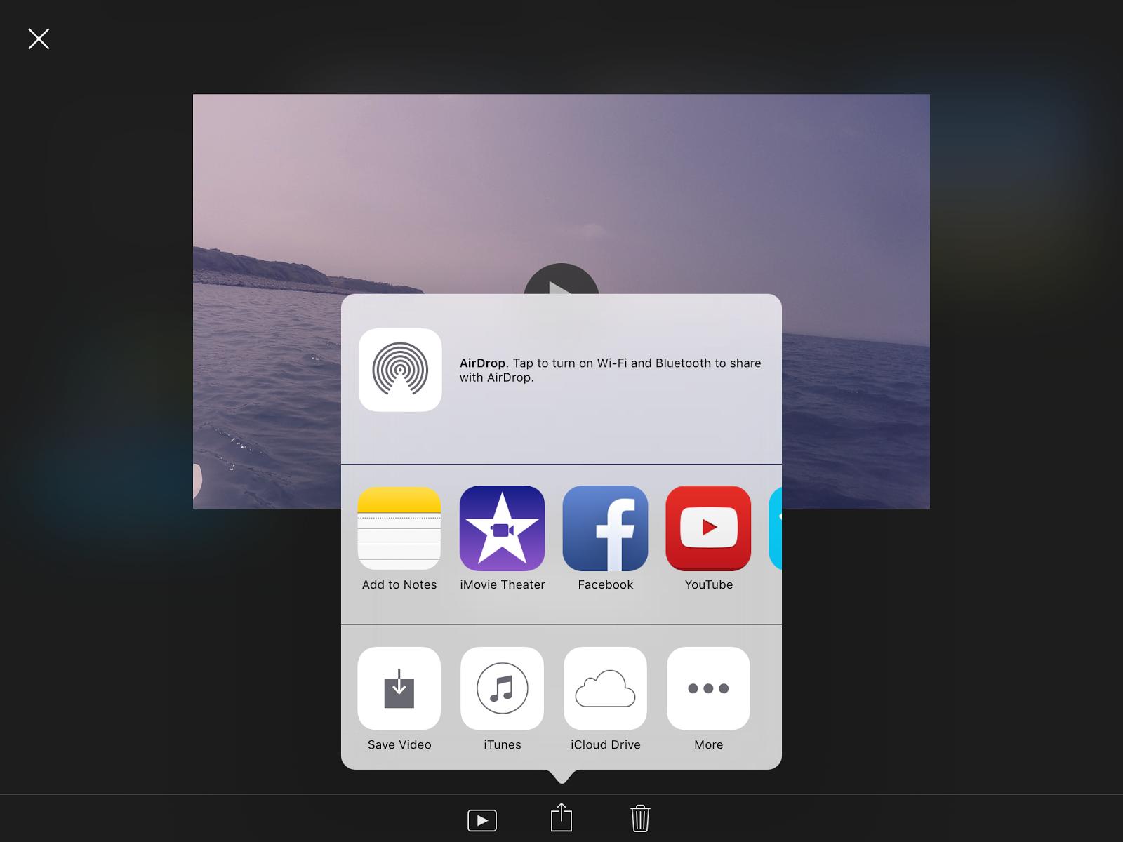 imovie instructions for ipad