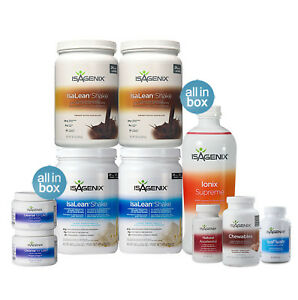 isagenix 30 day program instructions
