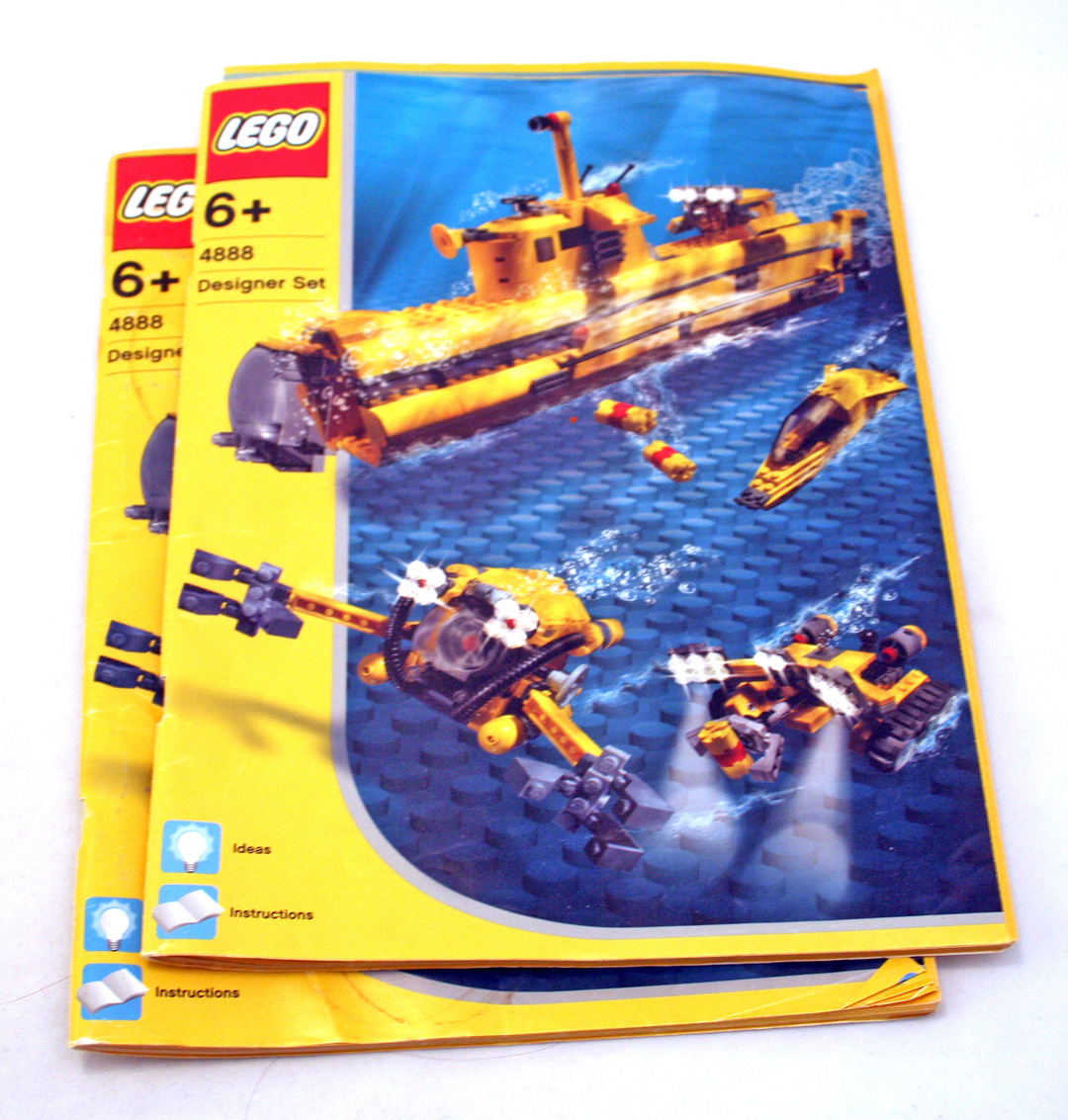 lego classic submarine instructions