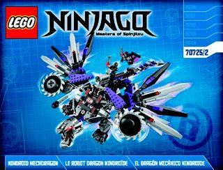 lego ninjago nindroid mechdragon instructions