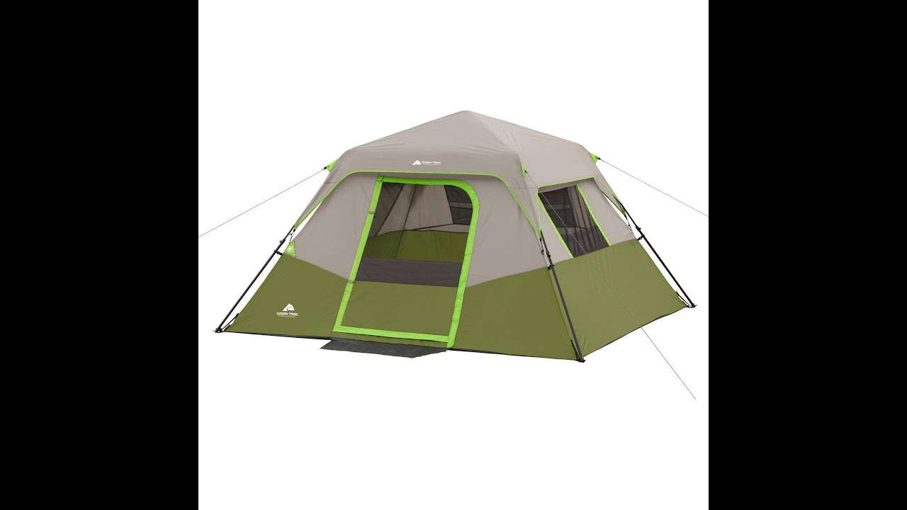 ozark trail 3 person tent instructions