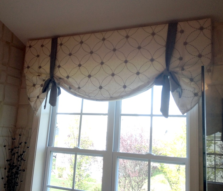 sewing cafe curtains instructions