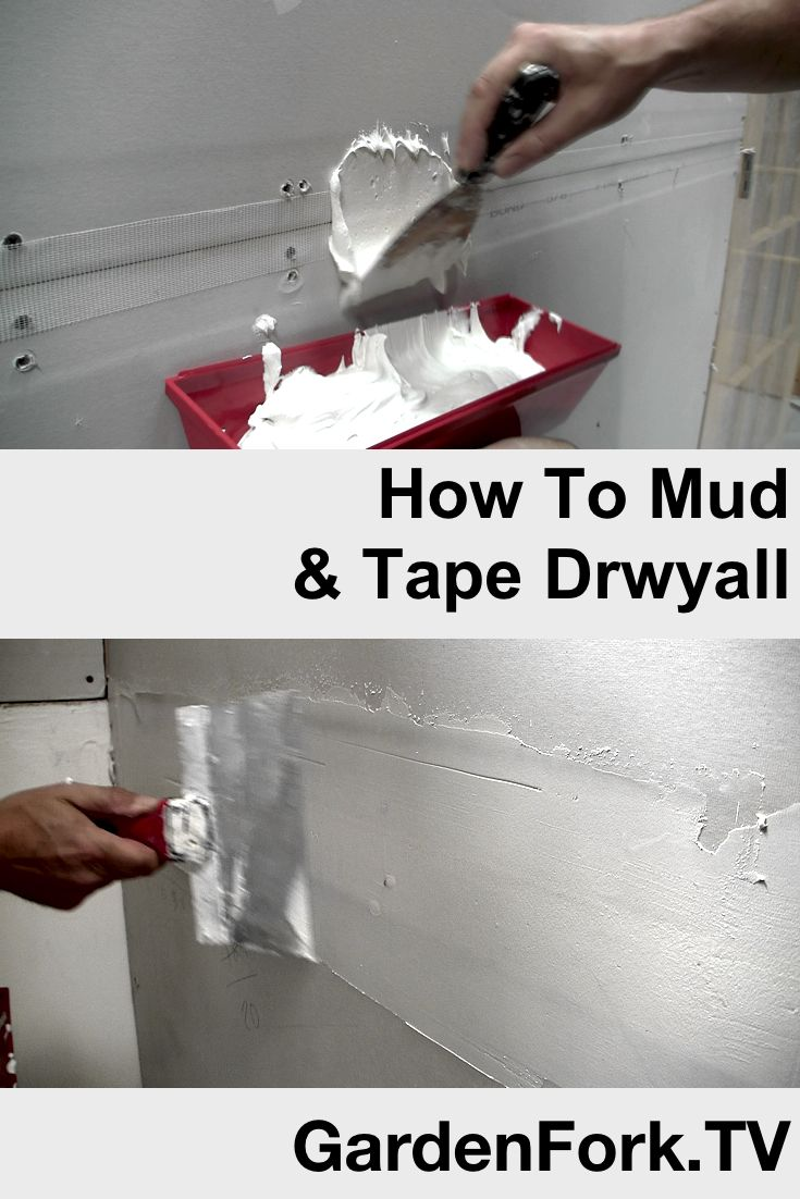 tape and mud drywall instructions