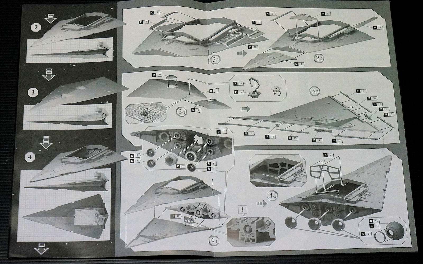 zvezda star destroyer instructions